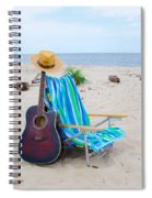 Beach Music Spiral Notebook