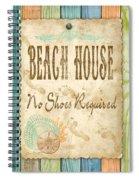 Beach Notes-d Spiral Notebook