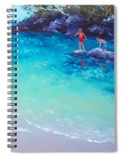 Beach Painting - A Day To Remember Spiral Notebook