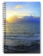 Beach Panorama Spiral Notebook