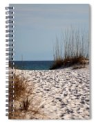 Beach Path Spiral Notebook