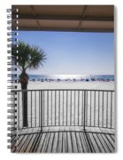 Beach Patio Spiral Notebook