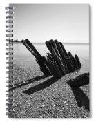 Beach Pilings Spiral Notebook