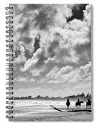 Beach Riders Spiral Notebook