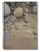 Beach Rocks Spiral Notebook