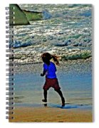 Beach Run Spiral Notebook