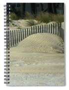 Beach Sand Dunes Spiral Notebook