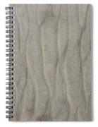 Beach Sand Pattern Spiral Notebook