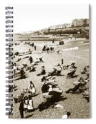 Beach Sean France  Circa 1900 Spiral Notebook