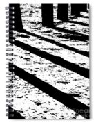 Beach Shadows Spiral Notebook