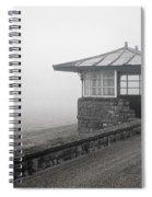 Beach Shelter Spiral Notebook