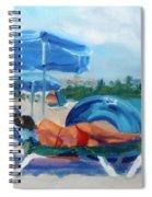 Beach Siesta Spiral Notebook