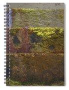 Beach Steps 3 Spiral Notebook