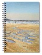 Beach Strollers  Spiral Notebook
