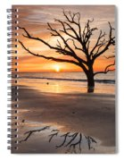 Awakening - Beach Sunrise Spiral Notebook