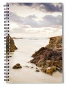 Beach Sunrise Spiral Notebook