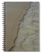 Beach Texture Spiral Notebook
