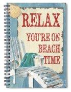 Beach Time 1 Spiral Notebook