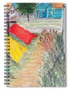Beach Town Spiral Notebook