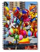 Beach Toys At Manta Beach Ecuador Spiral Notebook