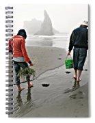 Beach Treasures Spiral Notebook