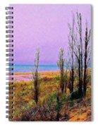 Beach Trees Spiral Notebook