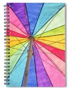 Beach Umbrella 2 Spiral Notebook