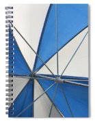 Beach Umbrella Spiral Notebook
