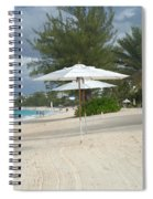 Beach Umbrellas Spiral Notebook