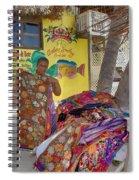 Beach Vendor Spiral Notebook