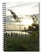 Beach Volleyball Spiral Notebook