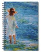 Beach Walker Spiral Notebook