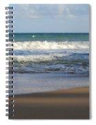 Beach Waves 3 Spiral Notebook