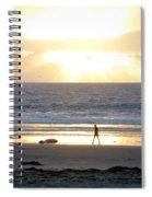 Beachcomber Encounter Spiral Notebook