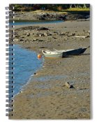 Beached Dinghy Spiral Notebook