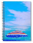 Beachtime Usa Spiral Notebook