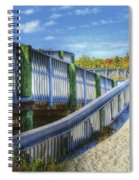 Beachwalk Spiral Notebook