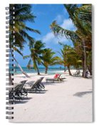 Beachy Belize Spiral Notebook