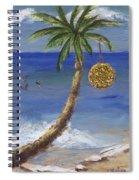 Beachy Christmas Spiral Notebook