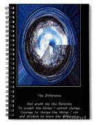 Beacon Of Hope - Serenity Prayer Spiral Notebook