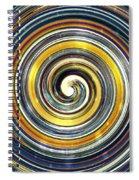 Beaconing Vortex Spiral Notebook