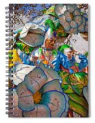 Bead Tossing Spiral Notebook