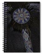 Beaded Staff 4 Spiral Notebook
