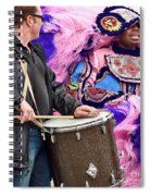 Beads And Feathers At Mardi Gras Spiral Notebook