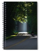 Beam Me Up The Great Smoky Mountains Spiral Notebook