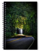 Beam Me Up Great Smoky Mountains Tennessee Mountains Art Spiral Notebook