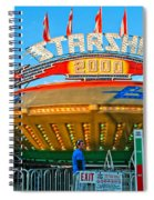 Beam Me Up Scotty Spiral Notebook