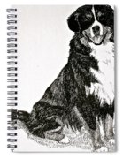 Beaming Berner Spiral Notebook