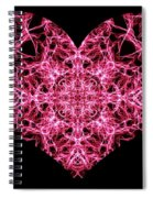 Beaming Heart Spiral Notebook