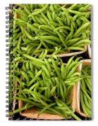 Beans Of Green Spiral Notebook